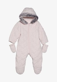 mothercare - BABY QUILTED SNOWSUIT - Overall - pink - 3