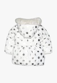 mothercare - BABY FLOW PADDED FOIL SPOT  - Winter coat - cream - 1