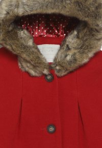 mothercare - COAT WITH HOOD - Kappa / rock - red - 4