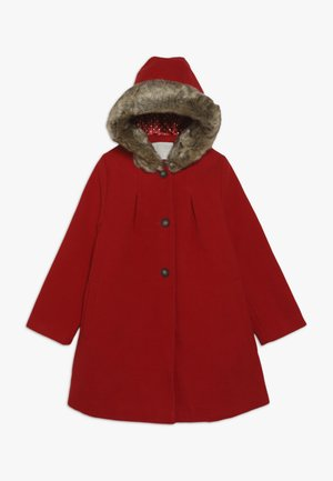 COAT WITH HOOD - Manteau classique - red