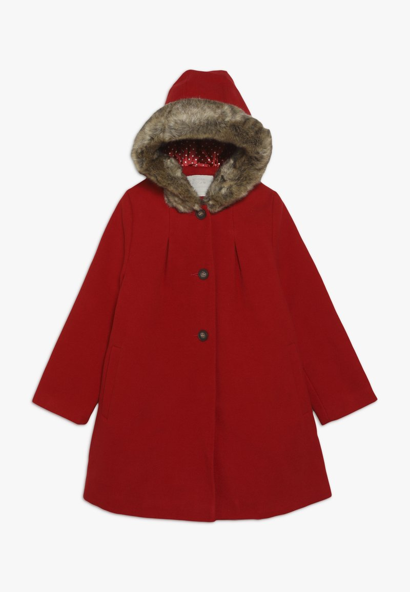 mothercare - COAT WITH HOOD - Kappa / rock - red