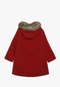 mothercare - COAT WITH HOOD - Kappa / rock - red - 1