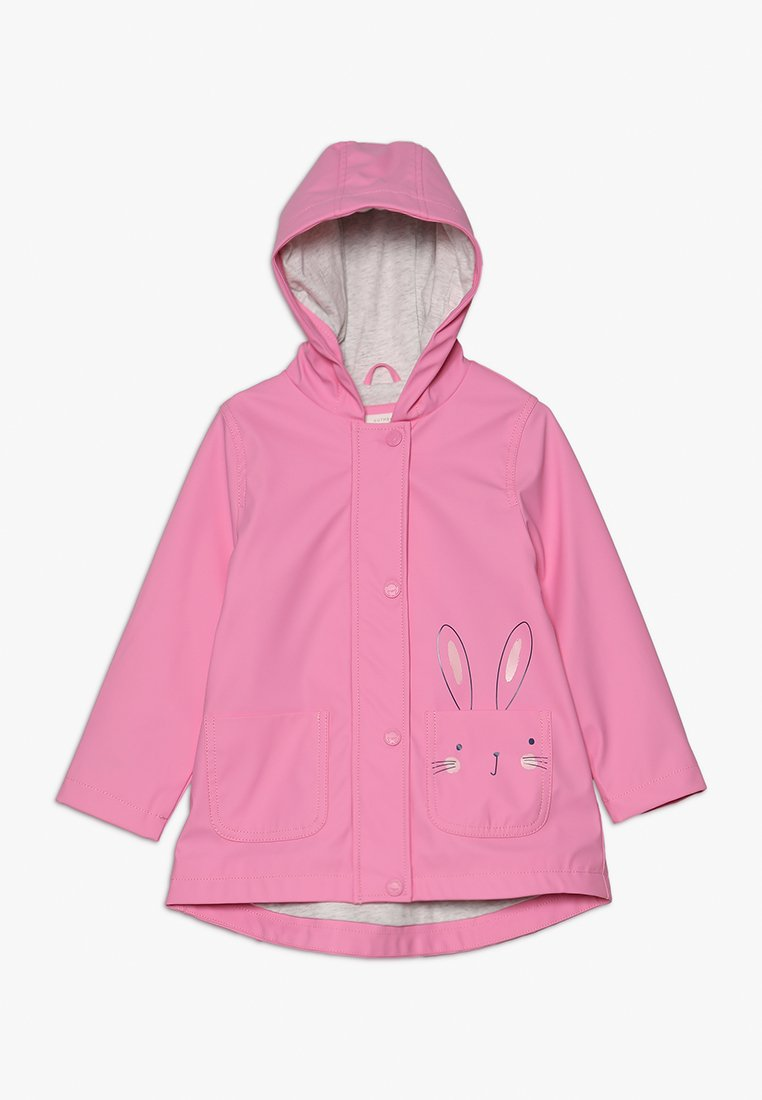 mothercare - BUNNY MINI GIRLS - Waterproof jacket - pink
