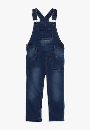 MID WASH DUNGAREE MINI BOYS - Tuinbroek - blue denim
