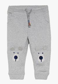 mothercare - BABY NOVELTY KNEE  - Kalhoty - grey - 0