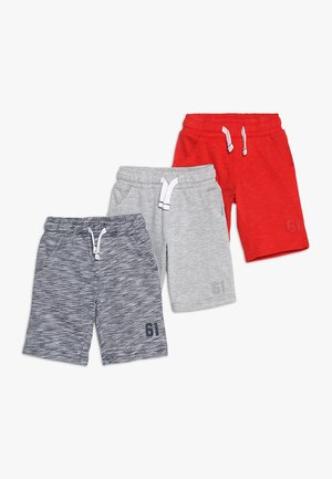 PLAIN SHORT MINI BOYS 3 PACK - Shorts - brights multi