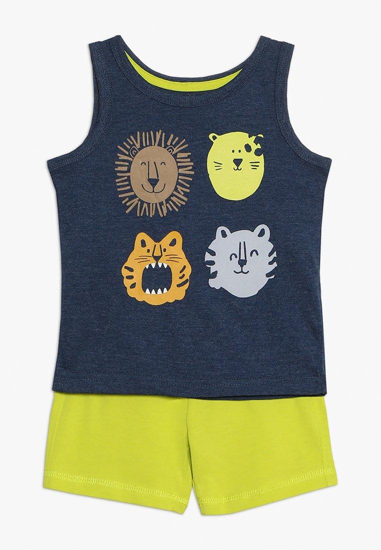 mothercare - ANIMALS VEST PROMO SET BABY - Stoffhose - brights multi