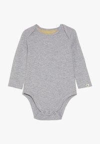 mothercare - BABY DINO DUNGAREE SET - Tuinbroek - grey - 2