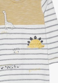 mothercare - BABY STRIPE AND HAT SET - Dupačky na spaní - mustard - 3