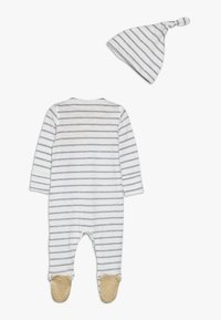 mothercare - BABY STRIPE AND HAT SET - Dupačky na spaní - mustard - 1