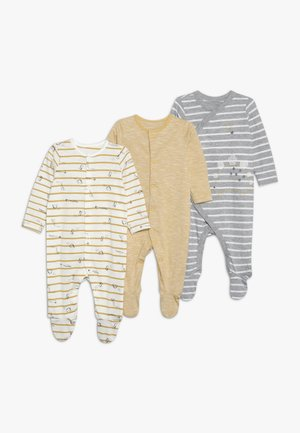 BABY HANGING SLEEPSUITS 3 PACK  - Pyžamo - dark multi