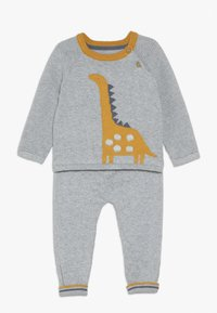 mothercare - BABY DINO KNITTED SET - Jumper - grey - 0