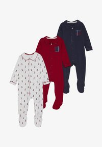mothercare - BABY HANGING SLEEPSUITS 3 PACK - Pyjama - navy - 3