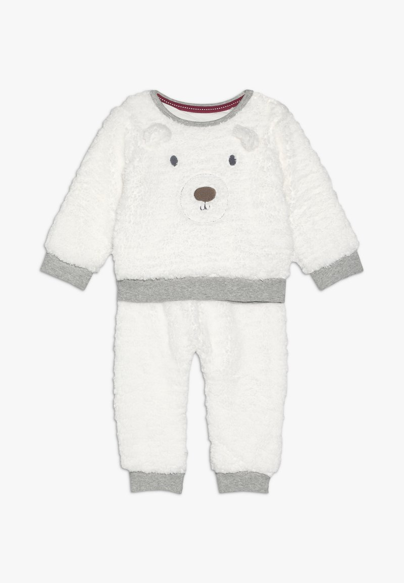 mothercare - BABY SET - Sweat polaire - white