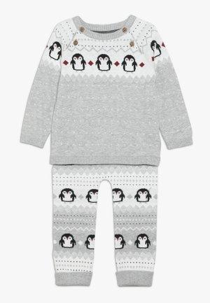 BABY SET - Sweter - grey