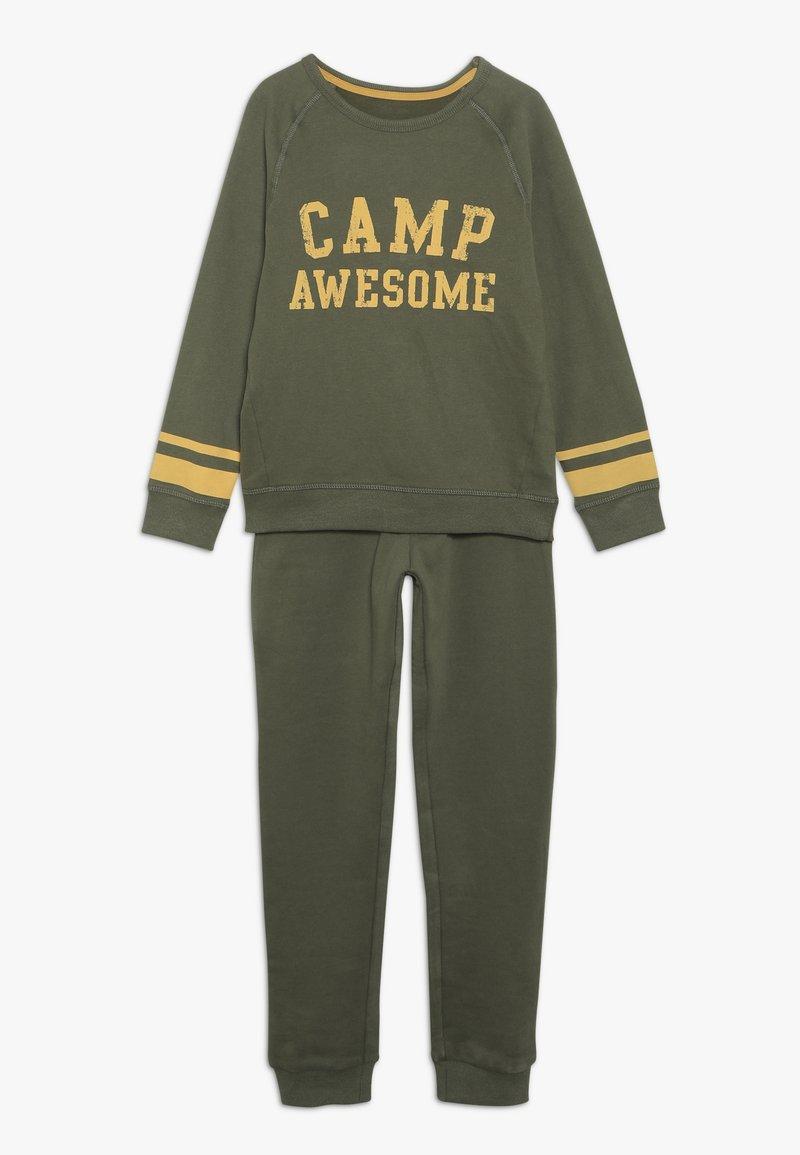 mothercare - CAMP AWESOME JOG SET - Sweatshirt - khaki