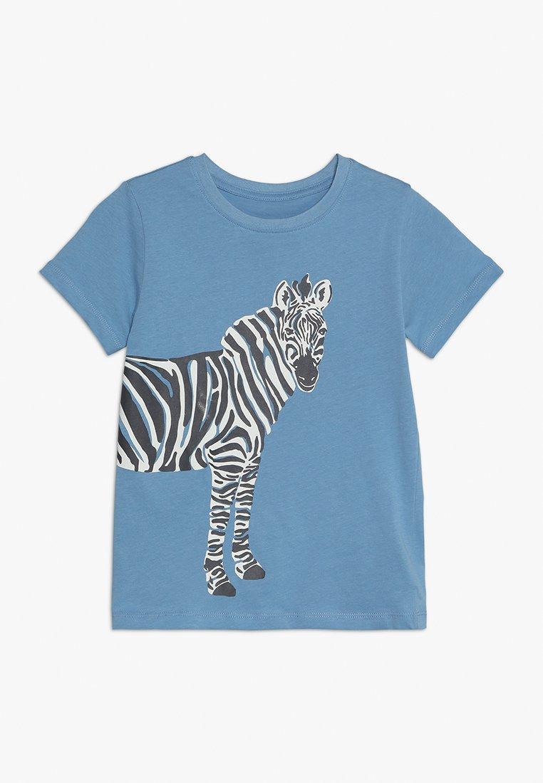 mothercare - ZEBRA UBER TEE - T-Shirt print - blue