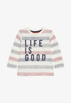 BABY LIFE IS GOOD STRIPE  - Long sleeved top - brights multi