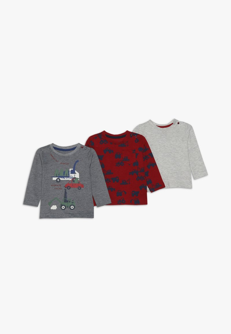 mothercare - BABY 3 PACK - Långärmad tröja - dark multi