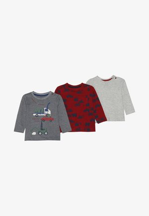 BABY 3 PACK - Long sleeved top - dark multi
