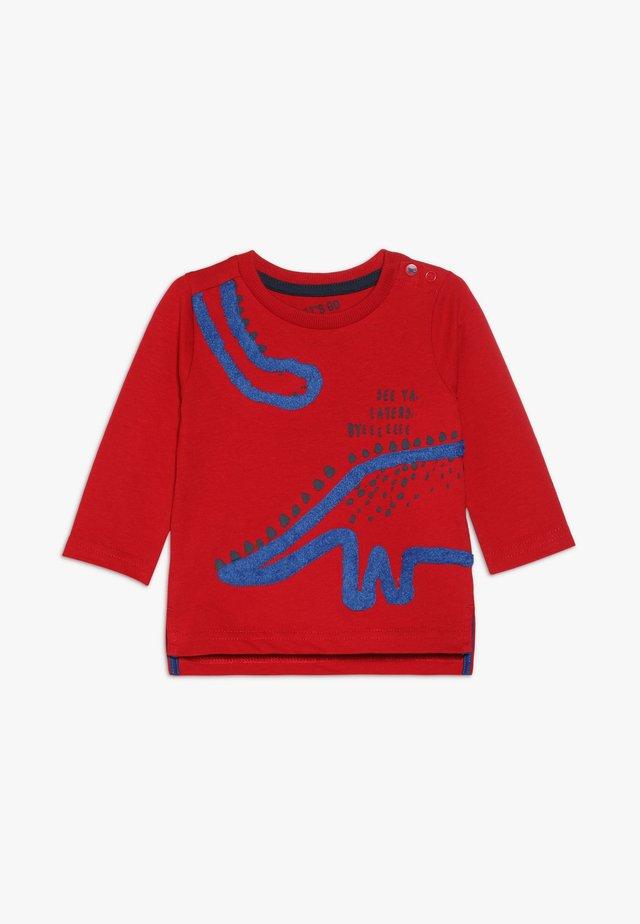 BABY DINOSAUR TEE  - Longsleeve - red