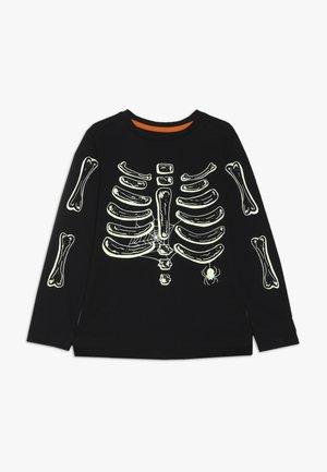 HALLOWEEN SKELETON - Maglietta a manica lunga - black
