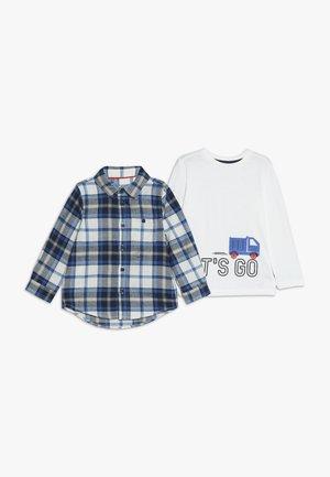 BABY LETS GO CHECK TEE SET - Košile - lights multi