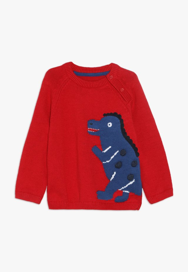 BABY DINOSAUR JUMPER - Neule - red