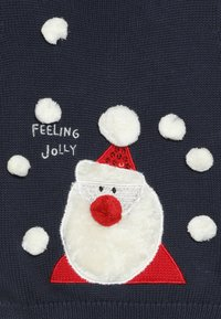 mothercare - BABY SANTA JUMPER - Neule - navy - 3