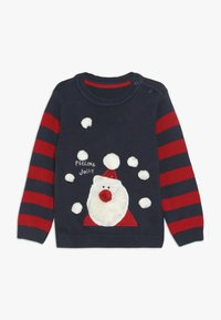 mothercare - BABY SANTA JUMPER - Neule - navy - 0