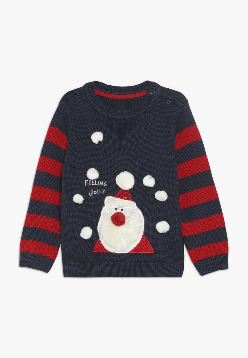 mothercare - BABY SANTA JUMPER - Neule - navy