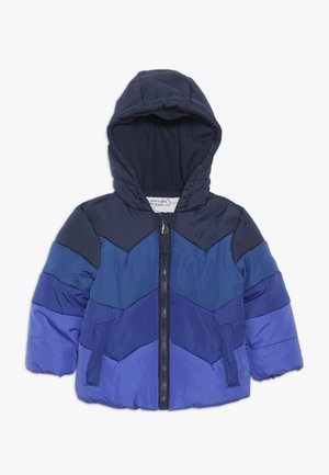 BABY JACKET COLOURBLOCK - Winter jacket - blue