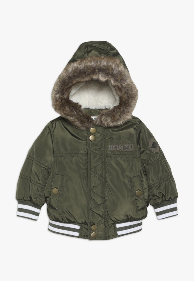 BABY FASHION HOOD - Vinterjakker - khaki