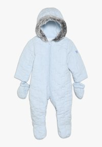 mothercare - BABY QUILTED SNOWSUIT - Mono para la nieve - blue - 0