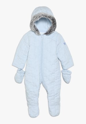 BABY QUILTED SNOWSUIT - Snowsuit - blue