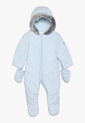 BABY QUILTED SNOWSUIT - Mono para la nieve - blue