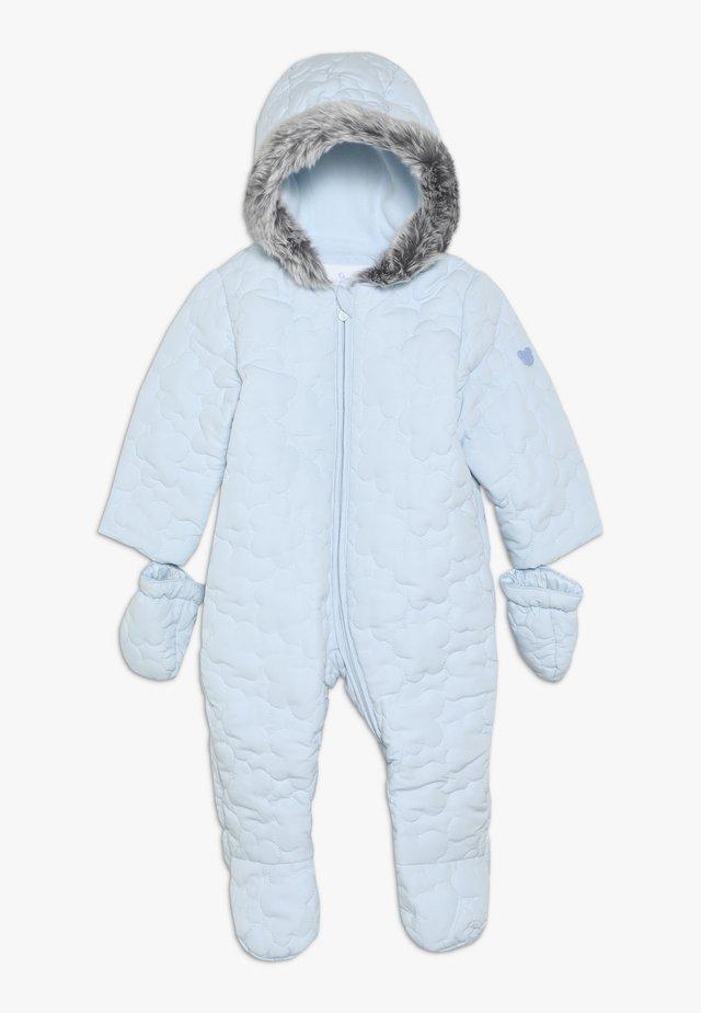 BABY QUILTED SNOWSUIT - Schneeanzug - blue