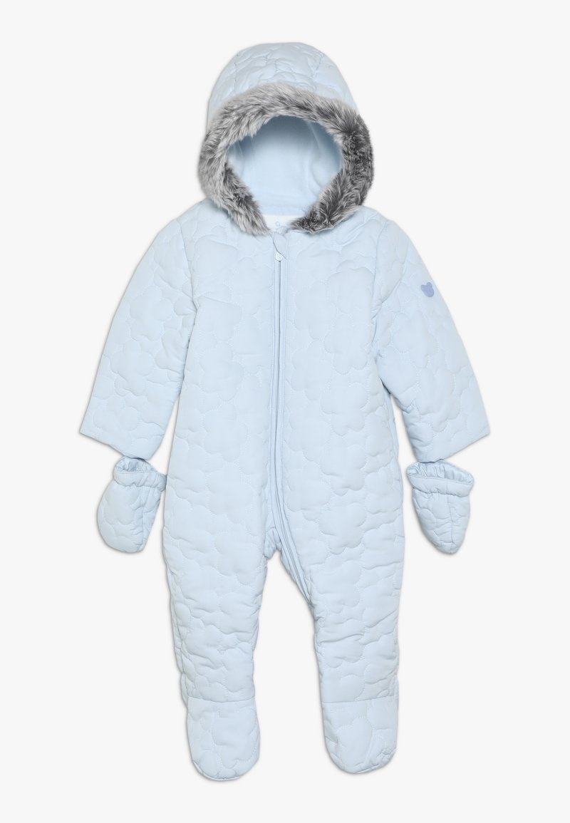 mothercare - BABY QUILTED SNOWSUIT - Mono para la nieve - blue