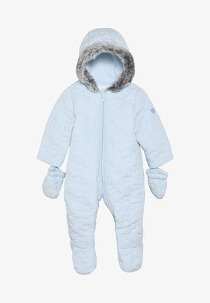 BABY QUILTED SNOWSUIT - Overall - blue