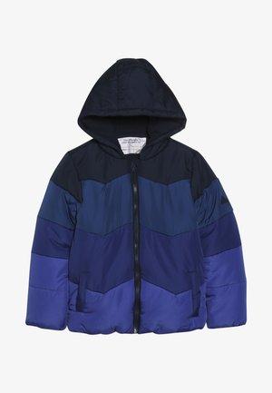 JACKET COLOURBLOCK - Winter jacket - blue