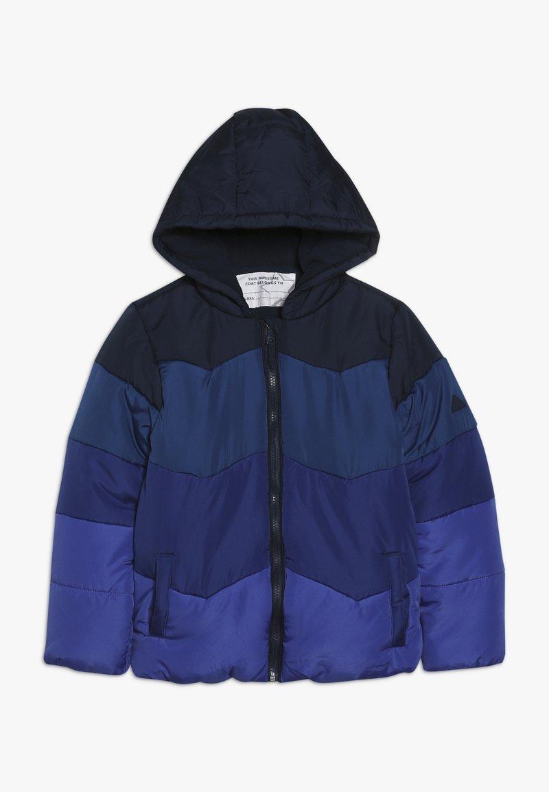 mothercare - JACKET COLOURBLOCK - Zimní bunda - blue