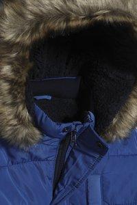 mothercare - PADDED COAT BLUE - Veste d'hiver - blue - 4