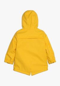 mothercare - COATED WADDED MINI BOYS - Regenjacke / wasserabweisende Jacke - yellow - 1