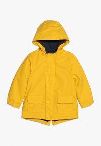 mothercare - COATED WADDED MINI BOYS - Regenjacke / wasserabweisende Jacke - yellow - 0