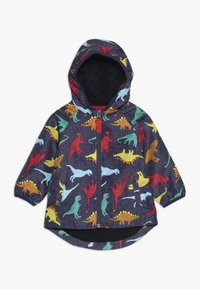 mothercare - BABY COLOURFUL DINO - Waterproof jacket - navy - 0