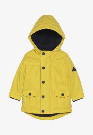 BABY PLAIN - Vinterkåpe / -frakk - yellow