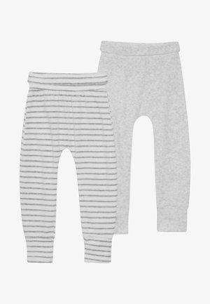 BABY NOVELTY 2 PACK - Stoffhose - grey