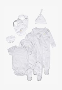 mothercare - STARTER BABY SET - T-shirt à manches longues - white - 0