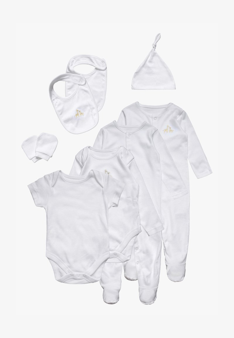 mothercare - STARTER BABY SET - T-shirt à manches longues - white