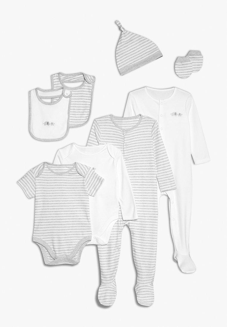 mothercare - STARTER SET BABY - Haklapp - grey